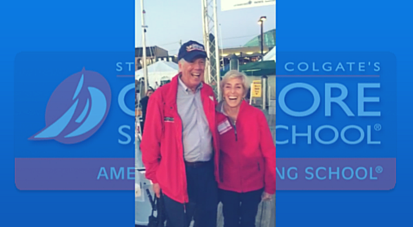 Steve and Doris Colgate at the 2015 Annapolis Boat Show