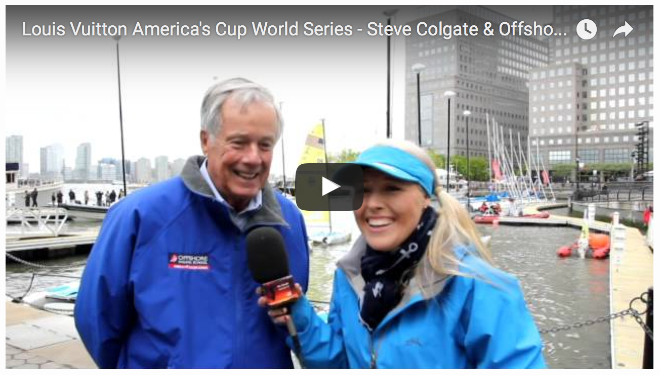 Steve Colgate interview by Sailor Girl on May 7